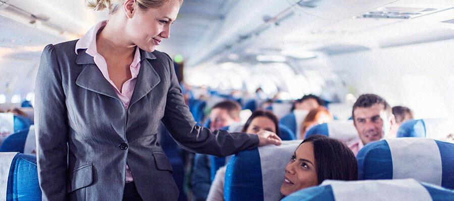 6 maneiras de movimentar-se durante o voo