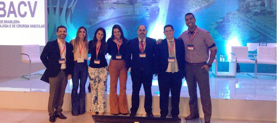 Equipe da Vascular Clínica participa de Encontro de Angiologia